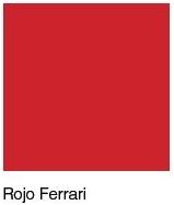 Rojo Ferrari lacado Brillo