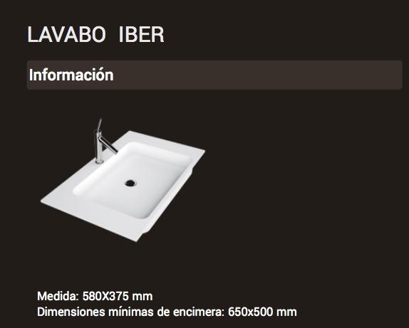 Lavabo IBER ( 580x375 )