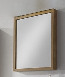Espejo con marco Roble ( Tino )