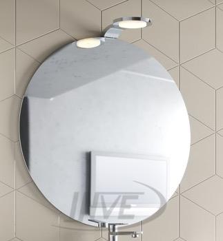 Espejo Redondo Incluido