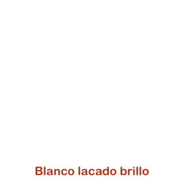 Blanco Lacado brillo