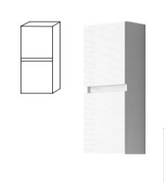 Modulo colgar de dos puertas