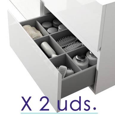 Separadores de cajon para cajon bajo X 2 uds.