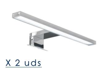 Aplique led de 30 cm ( x 2 uds. )