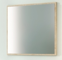 Espejo con trasera decorativa