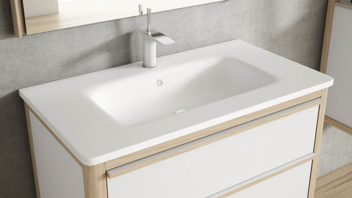 Lavabo Hasvik Solid Surface