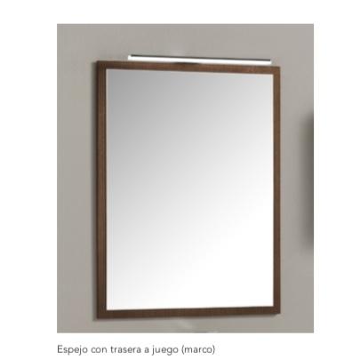 Espejo con marco decorativo