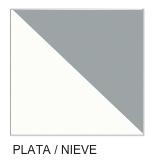 Combinado Plata/Blanco