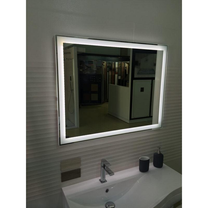 Espejo retroiluminado con LED