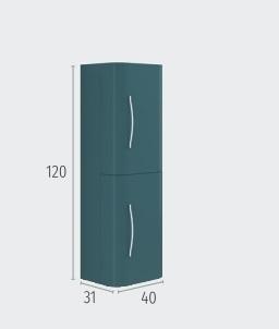 Columna Harlem de 120x40x31 a juego
