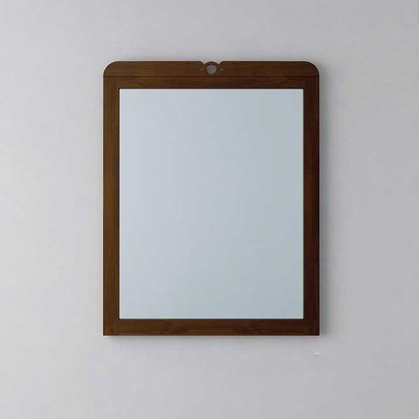 Espejo lira enmarcado ( misma medida )