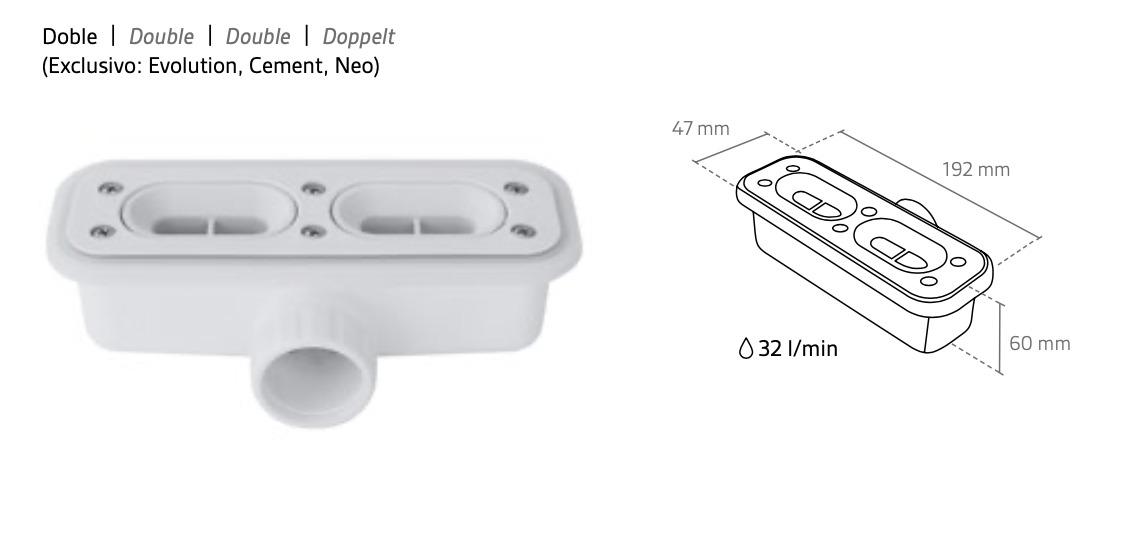 Válvula rectangular