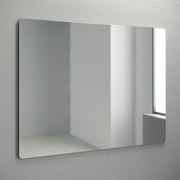 Espejo liso, esquinas redondas