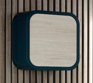 Cubo ovalo de 40x40x19,5