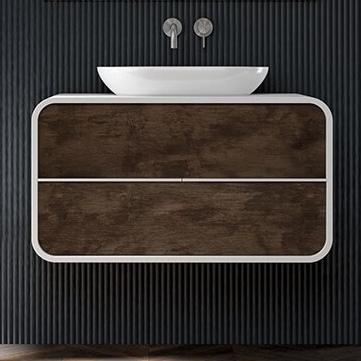 Mueble para sobre poner el lavabo.