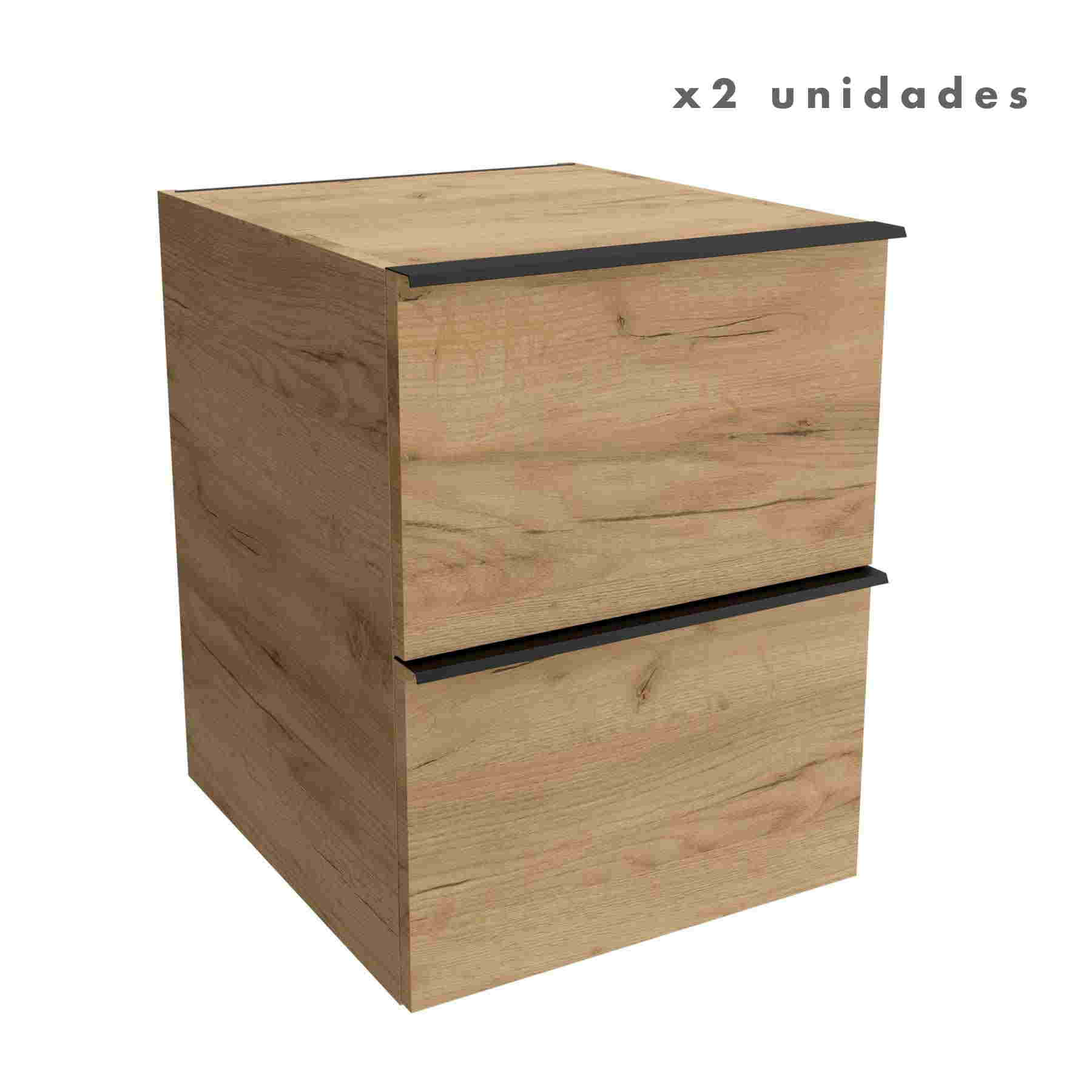 Coqueta Vinci de 40x45x54 (2 UNID.)
