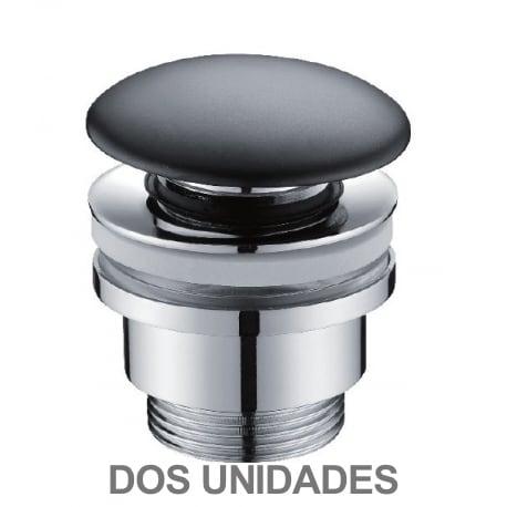 Valvula click-clack negra ( DOS UNIDADES )