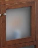 Puerta cristal mate