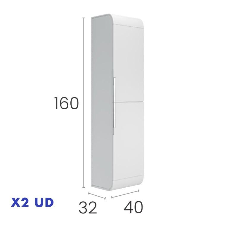 2 columnas auxiliares de 160x40x30 a juego